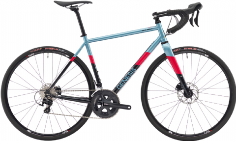 Genesis Equilibrium Disc 20 Road Bike Blue 2018